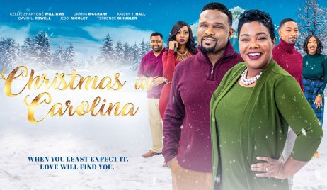 Darius McCrary in Christmas In Carolina Y&R