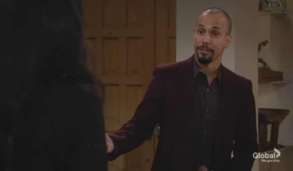 Devon opens up to Amanda at his penthouse Young and the Restless