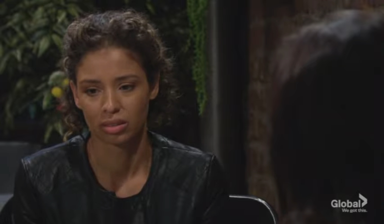 Elena confesses to cheating to Lola at Crimson Lights Young and the Restless