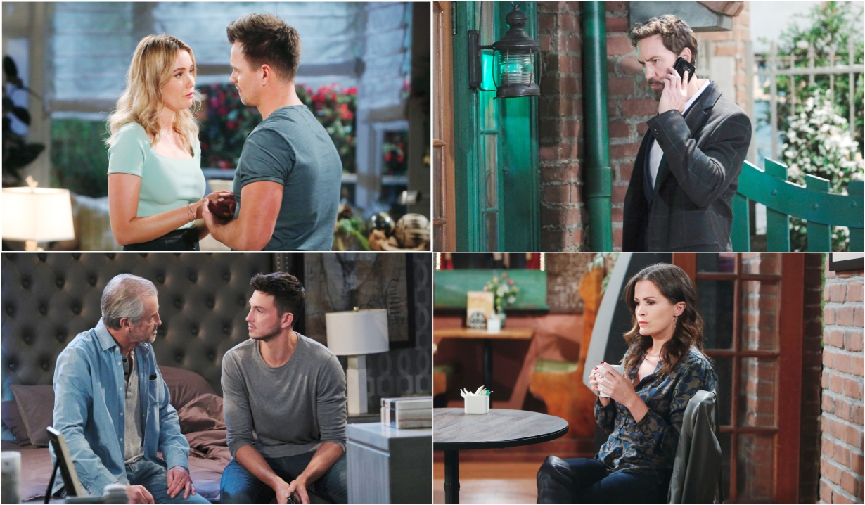 10-24-20 spoilers for bold and beautiful days of our lives general hospital young and restless