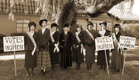 Suffragette cast GH special election episode