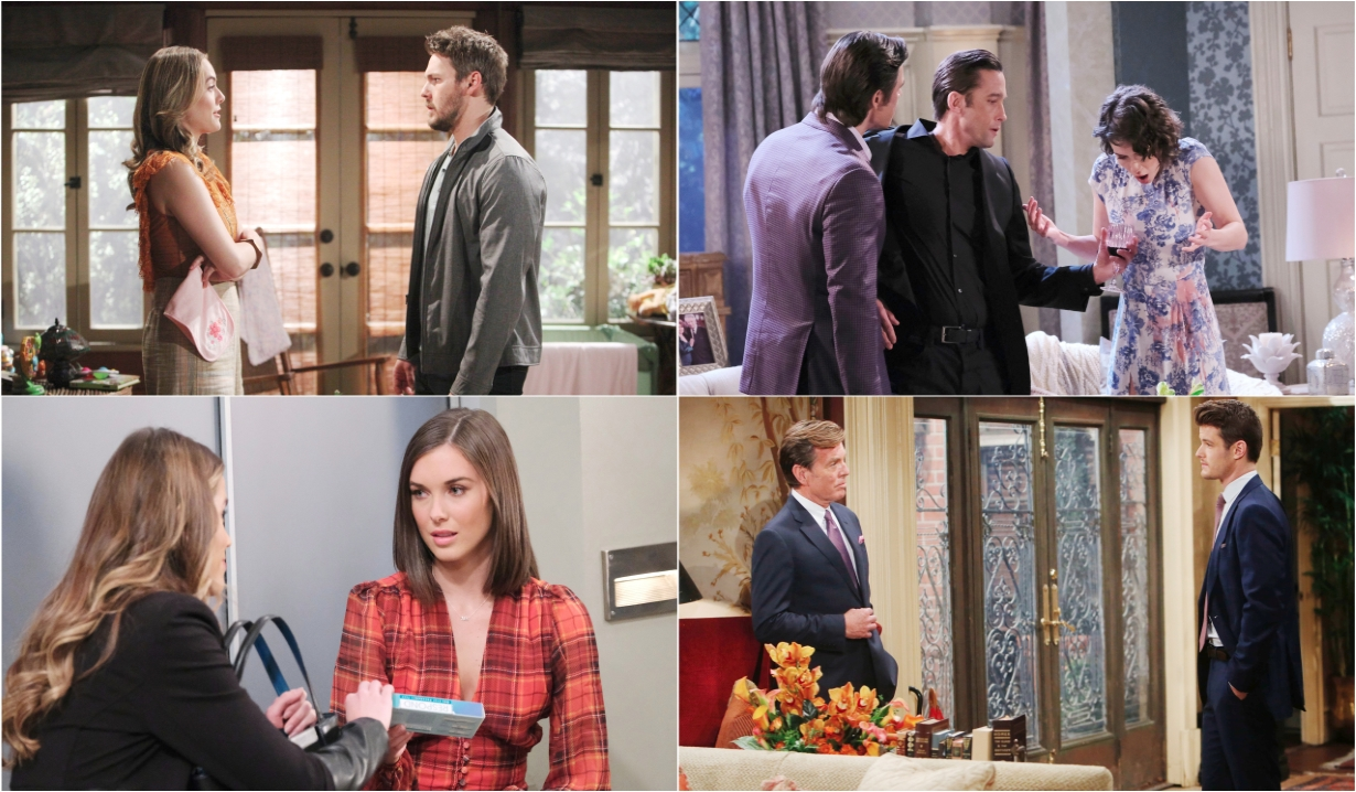 10-17-20 spoilers for bold and beautiful days of our lives general hospital young and restless