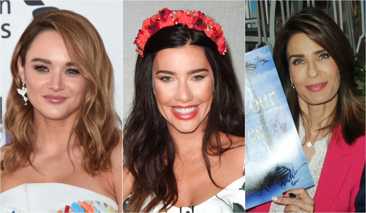 Hunter King Jacqueline MacInnes Wood Kristian Alfonso Days of our Lives General Hospital Bold and the Beautiful Young and the Restless