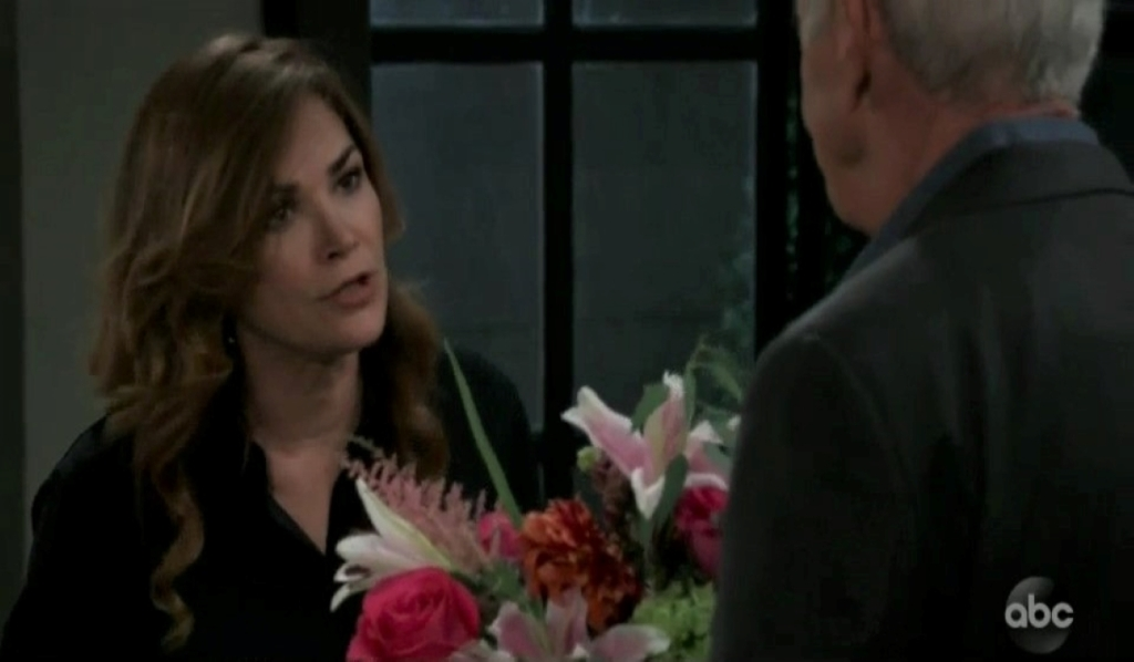Jackie refuses to work with Robert in her room General Hospital