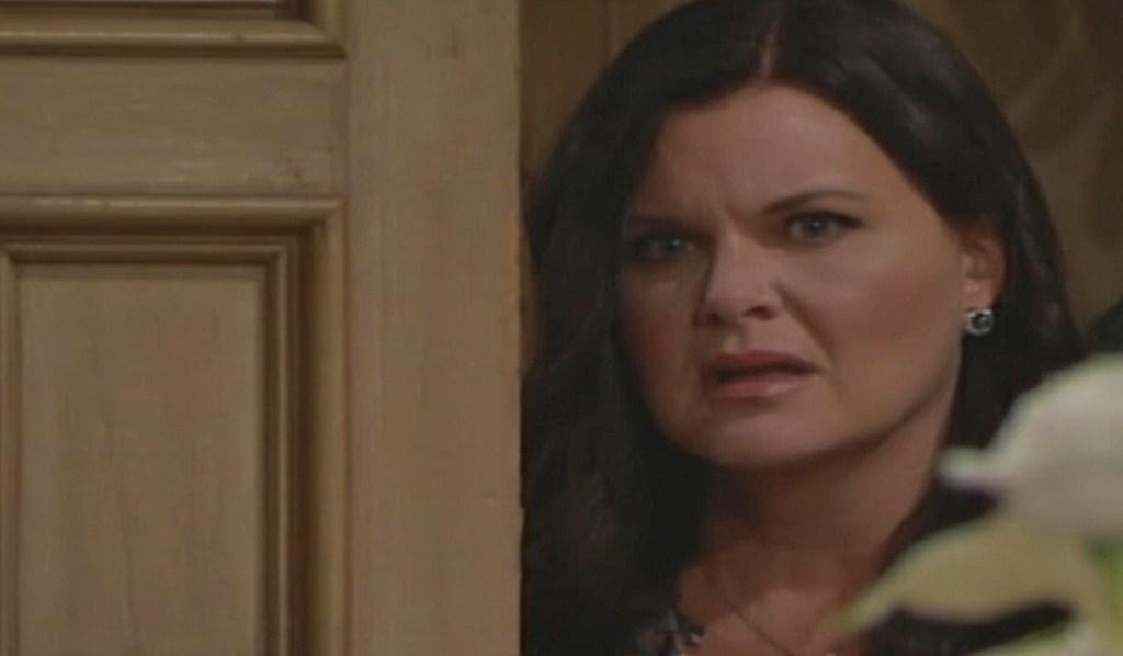 Katie overheard Quinn B&B