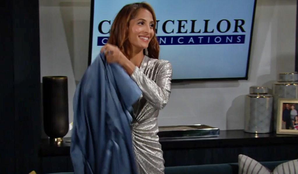 Lily dress gala Y&R