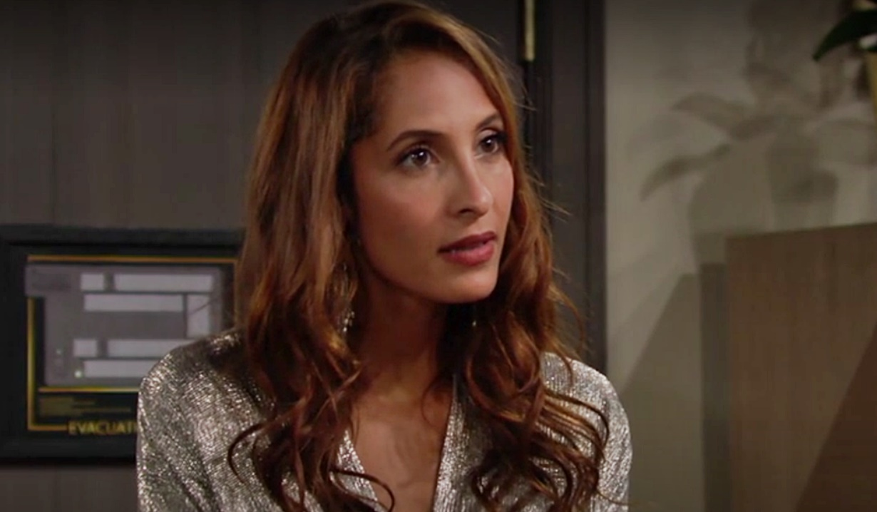 Lily learns Nate Amanda split Y&R