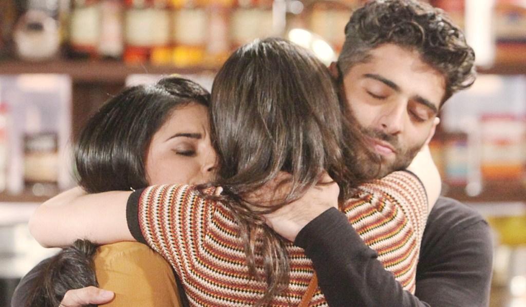 Mia, Lola, Arturo goodbye Y&R