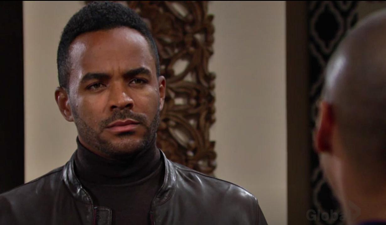 Devon confronts Nate on YR
