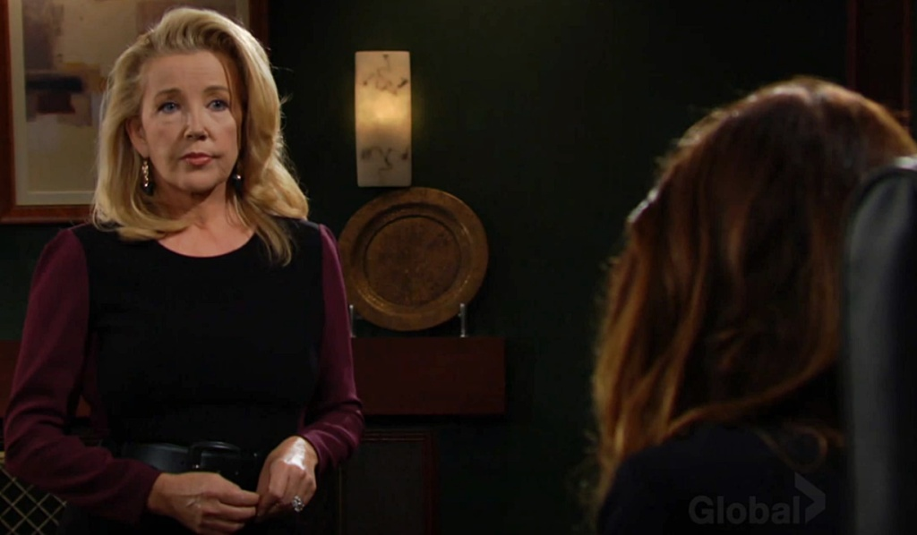 Nikki confronts Victoria Y&R