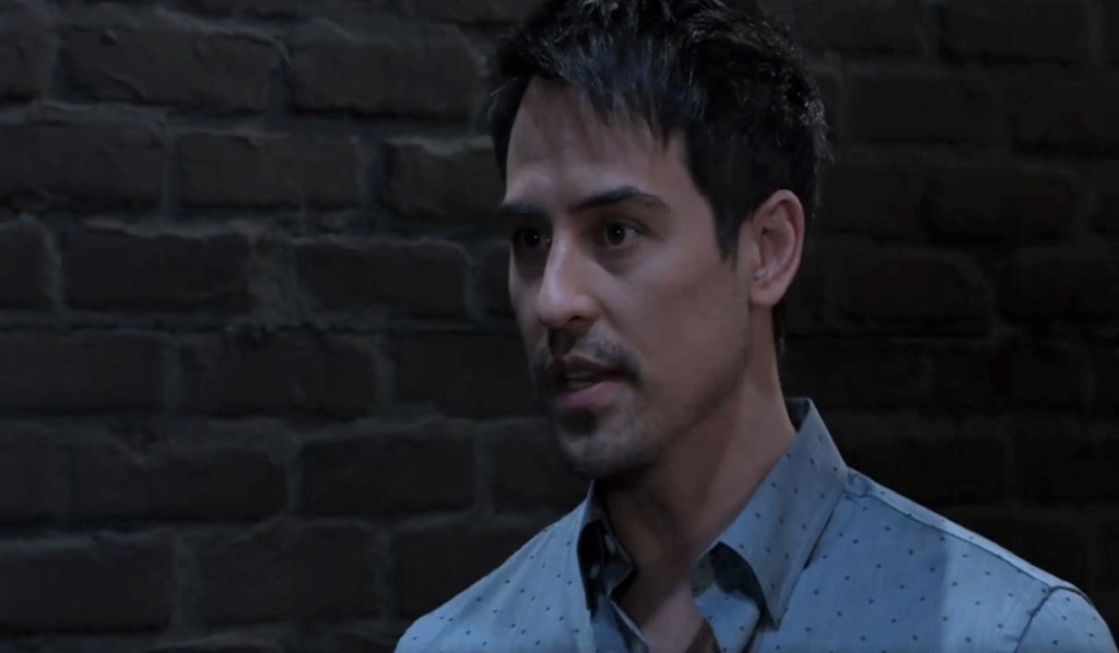 Nikolas makes an ultimatum in an alley General Hospital