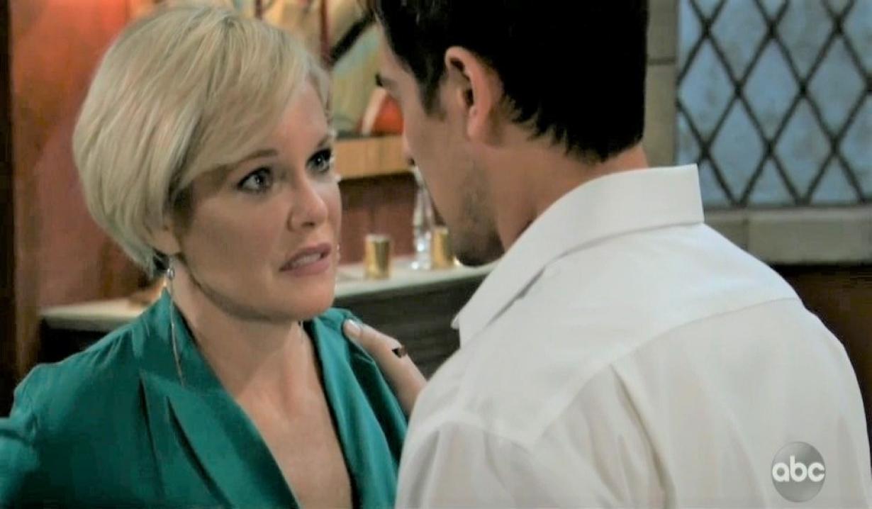 Ava accidentally stabs Nikolas at Wyndemere General Hospital