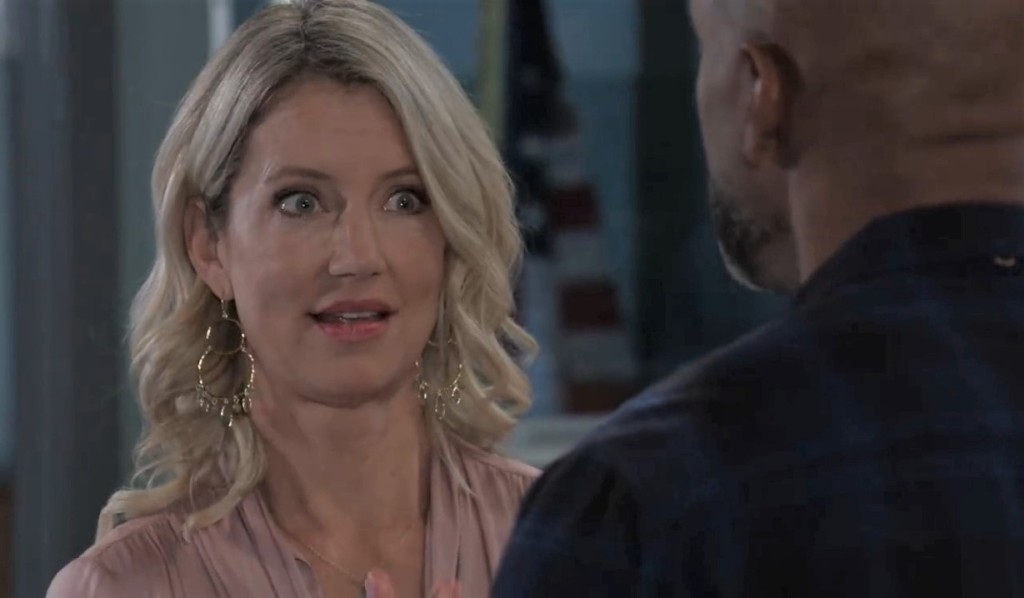Nina asks Curtis to find someone at PCPD General Hospital