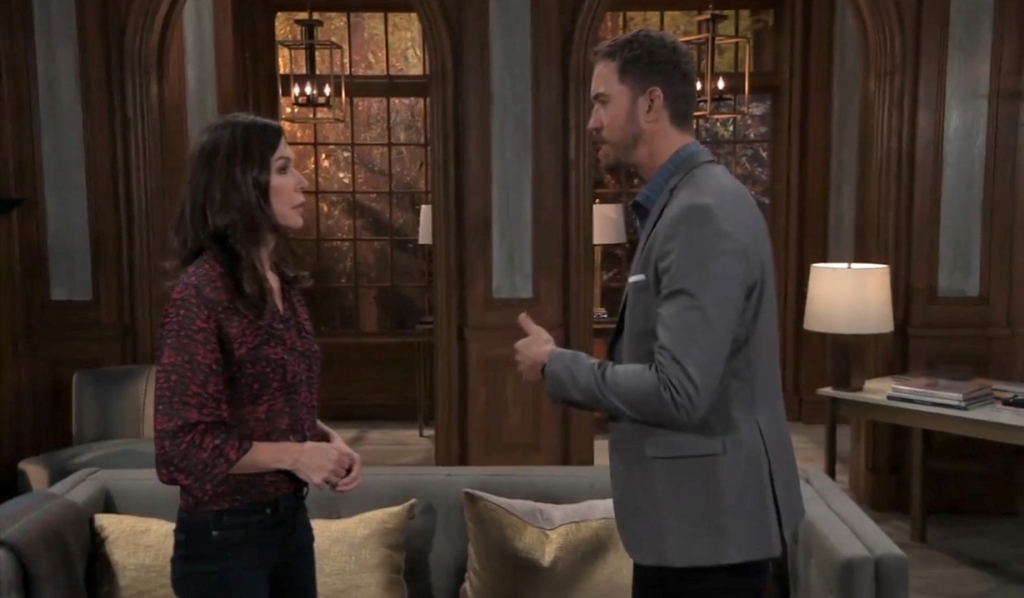 Peter talks to Anna at her place General Hospital