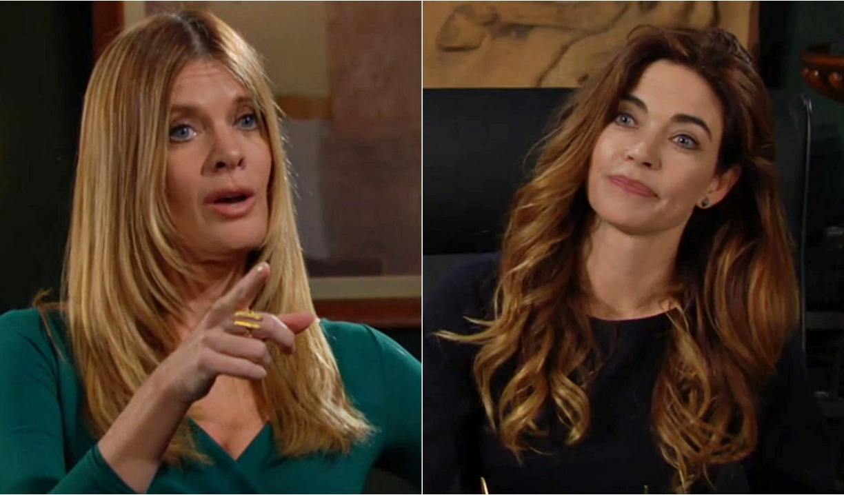 Phyllis, Victoria collage Y&R