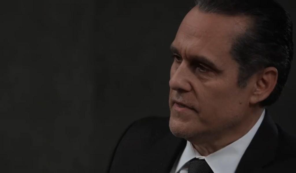Sonny speaks at Mike's funeral General Hospital