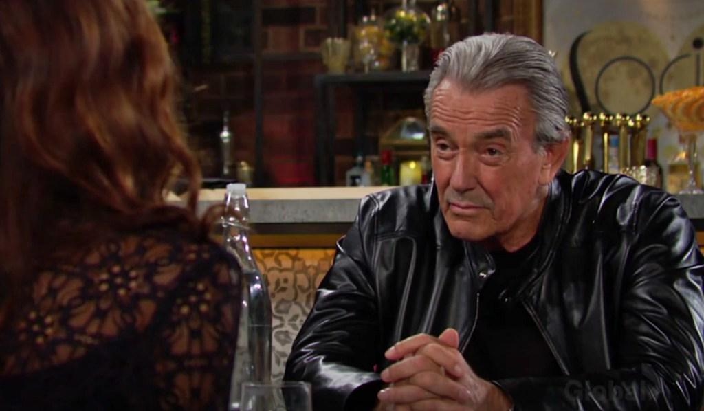 Victor talks to Lily Y&R