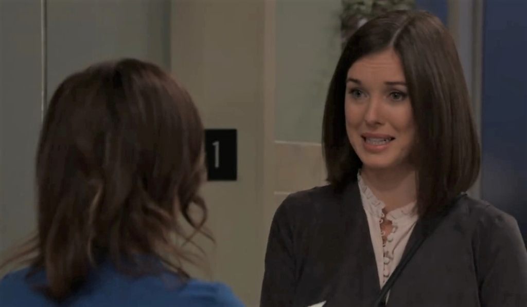 Willow and Liz talk marriage at General Hospital