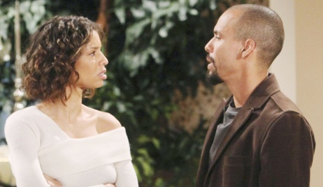 """Brytini Sarpy, Bryton James""""The Young and the Restless"""" Set CBS television CityLos Angeles11/07/19© Howard Wise/jpistudios.com310-657-9661Episode # 11837U.S. Airdate 12/18/19"""