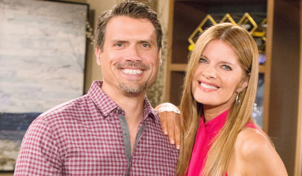 """JoshuaMorrow, Michelle Stafford""""The Young and the Restless"""" Set CBS television CityLos Angeles05/21/19© Howard Wise/jpistudios.com310-657-9661"""