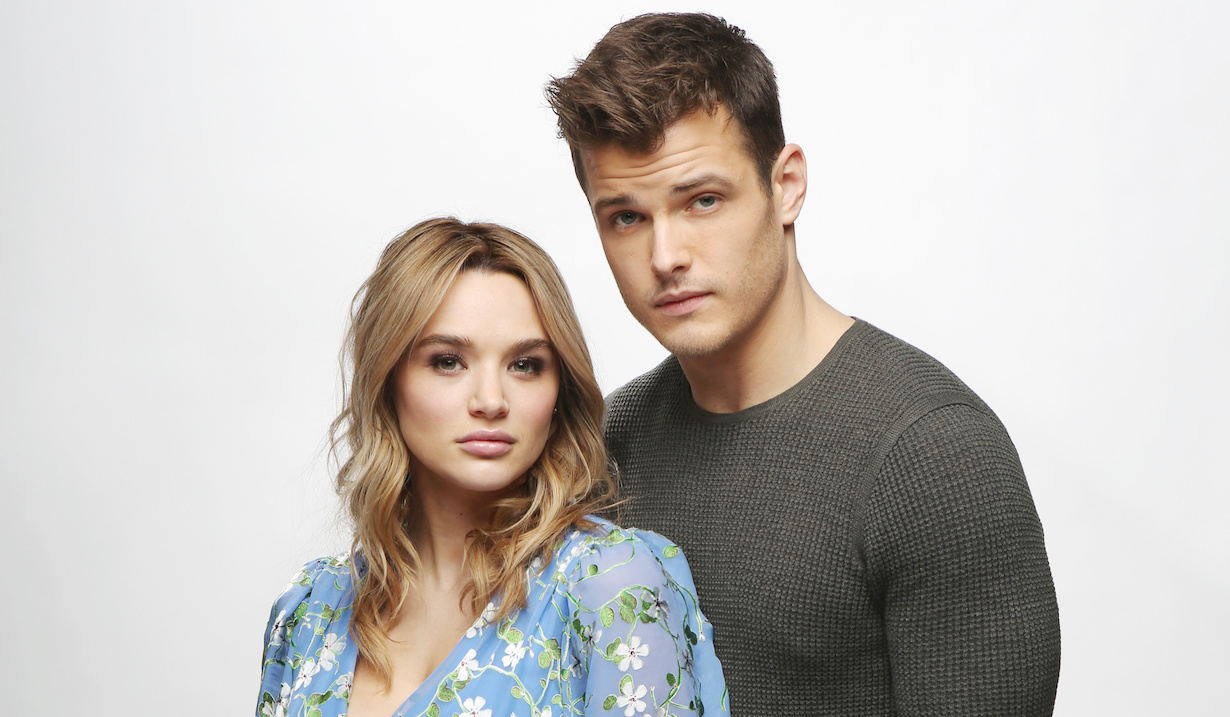 """Michael Mealor, Hunter King""""The Young and the Restless"""" Set Photo ShootCBS television CityLos Angeles02/11/19© Howard Wise/jpistudios.com310-657-9661"""