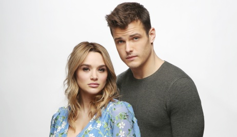"Michael Mealor, Hunter King""The Young and the Restless"" Set Photo ShootCBS television CityLos Angeles02/11/19© Howard Wise/jpistudios.com310-657-9661"