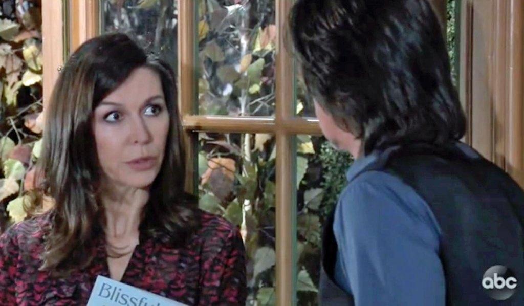 Anna tells Finn about Alex on GH