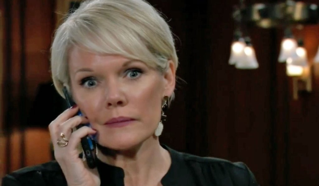 Ava gets a call from Ryan on GH