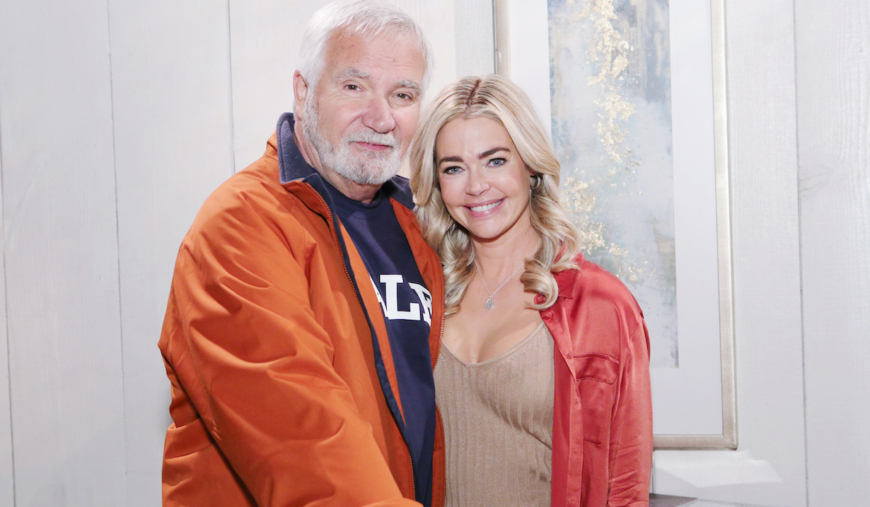 "Denise Richards, John McCook ""The Bold and the Beautiful"" shauna eric"