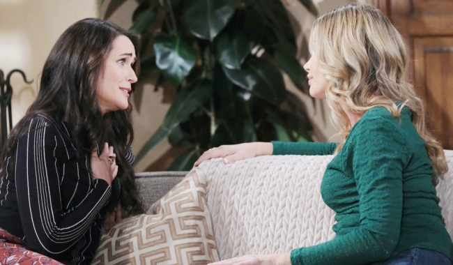 """Denise Richards, Rena Sofer""""The Bold and the Beautiful"""" quinn shauna"""