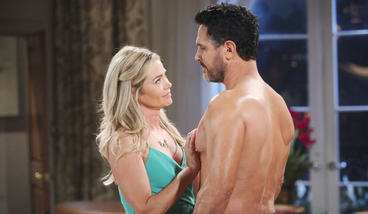 Denise Richards, Don Diamont bold beautiful shauna bill