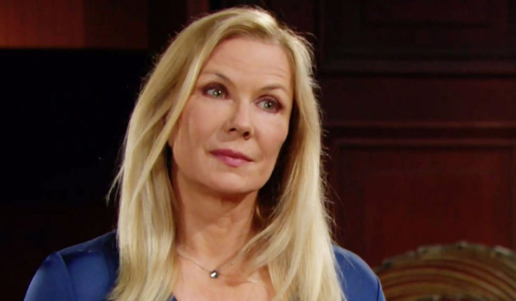 brooke's concerned about thomas being near hope B&B