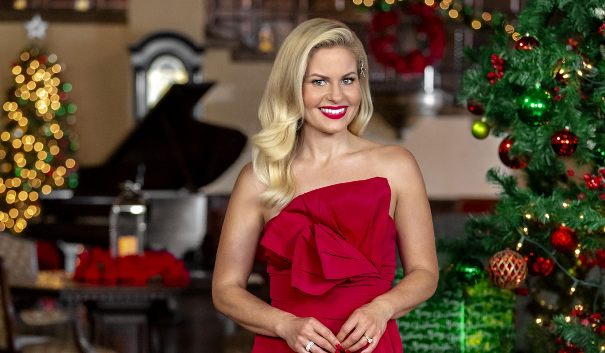candace bure hosts countdown to christmas preview