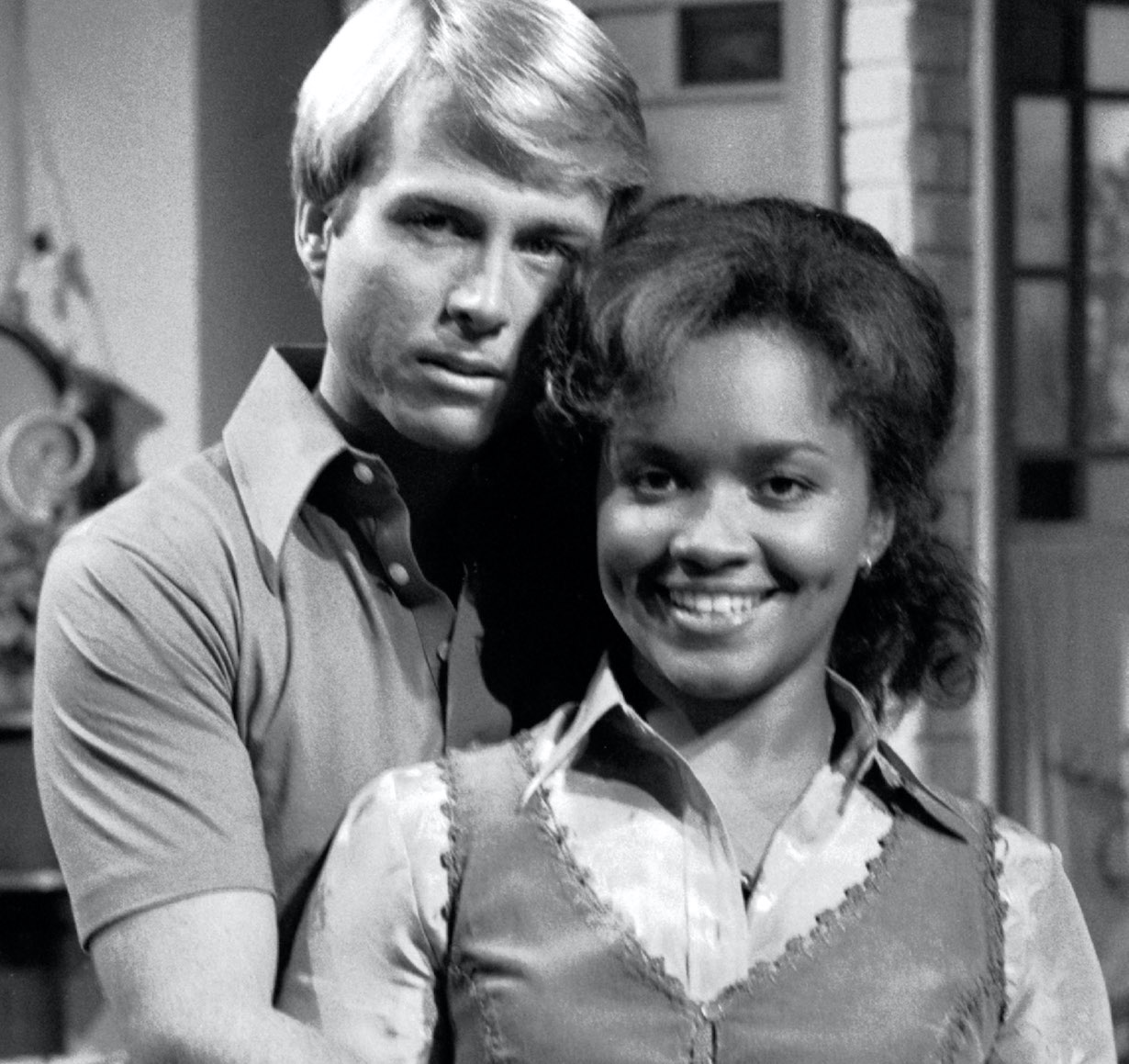 DAYS OF OUR LIVES, David Guthrie, Tina Andrews valerie grant interracial couple