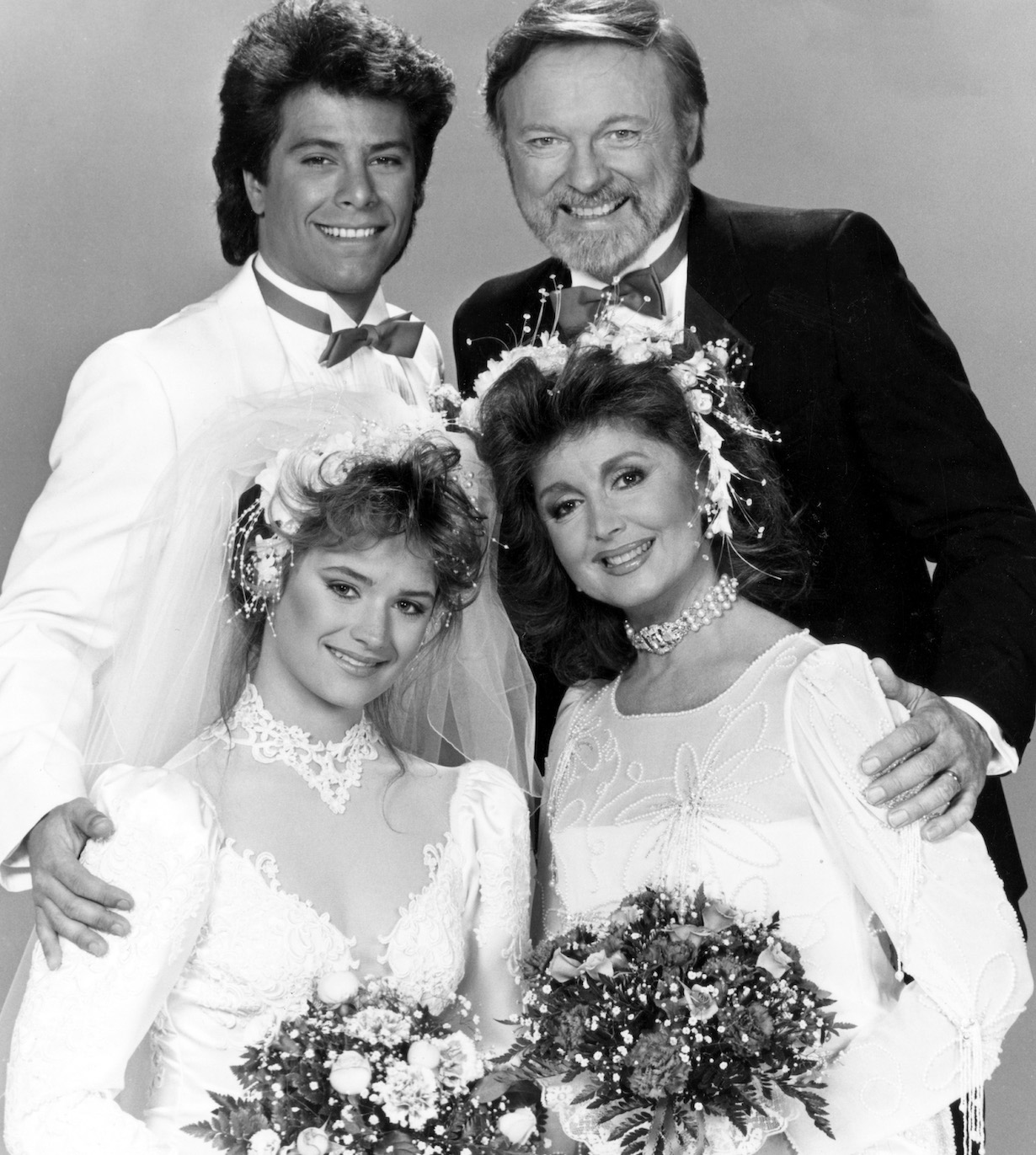 days of our lives mickey maggie pete melissa double wedding