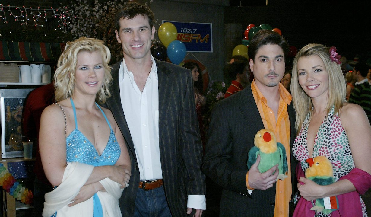 "Bryan Dattilo, Christie Clark, Austin Peck, Alison Sweeney ""Days Of Our Lives"""