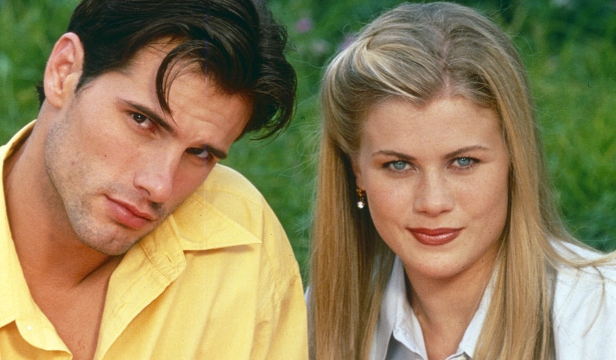 DAYS OF OUR LIVES, from left: Austin Peck, Alison Sweeney, sami austin gallery