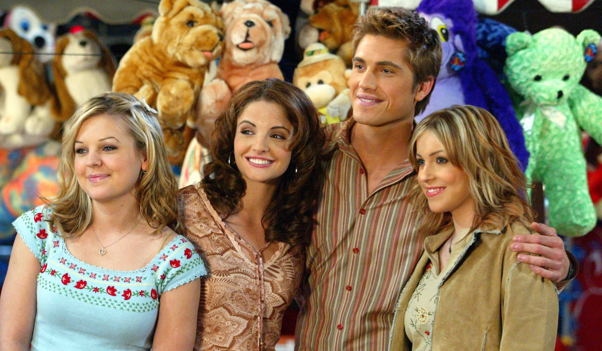 "Kirsten Storms, Alexis Thorpe, Eric Winter and Farah Fath""Days of our Lives"" mimi belle rex cassie"