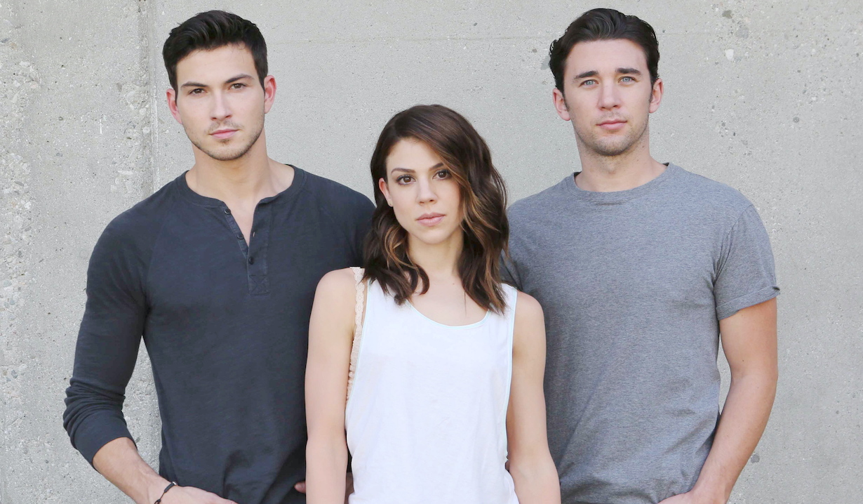 "Kate Mansi, Billy Flynn, Robert Scott Wilson""Days of our Lives"" chad ben abigail"