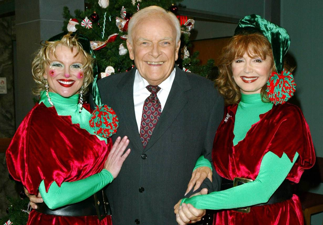 "Judi Evans, John Ingle, Suzanne Rogers ""Days of our Lives"" Set Christmas NBC Studios 11/20/04 NBC©Jill Johnson/jpistudios.com 310-657-9661"