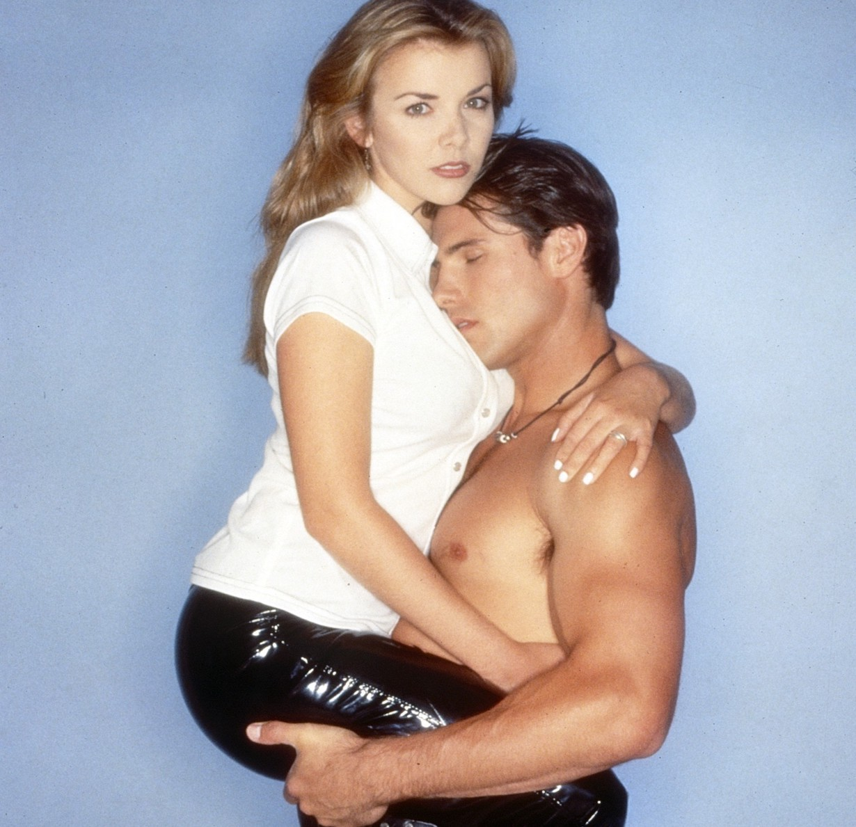 DAYS OF OUR LIVES, from left: Christie Clark, Austin Peck, carrie