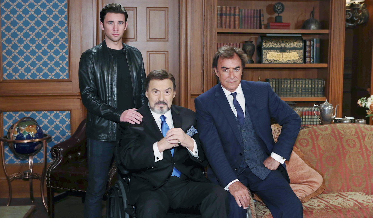 Thaao Penghlis, Joe Mascolo, Billy Flynn tony chad stefano days gallery