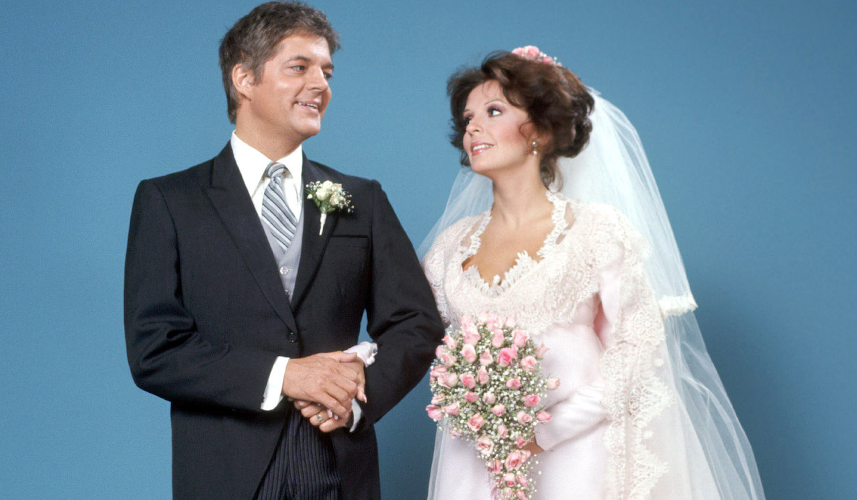 DAYS OF OUR LIVES, Bill Hayes, Susan Seaforth Hayes (1976), doug julie wedding