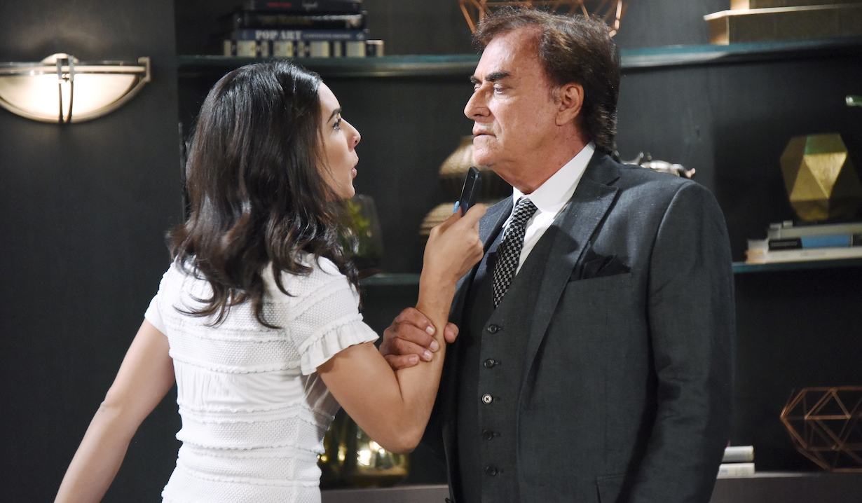 "Thaao Penghlis, Camila Banus ""Days of our Lives"" gabi threatens andre"