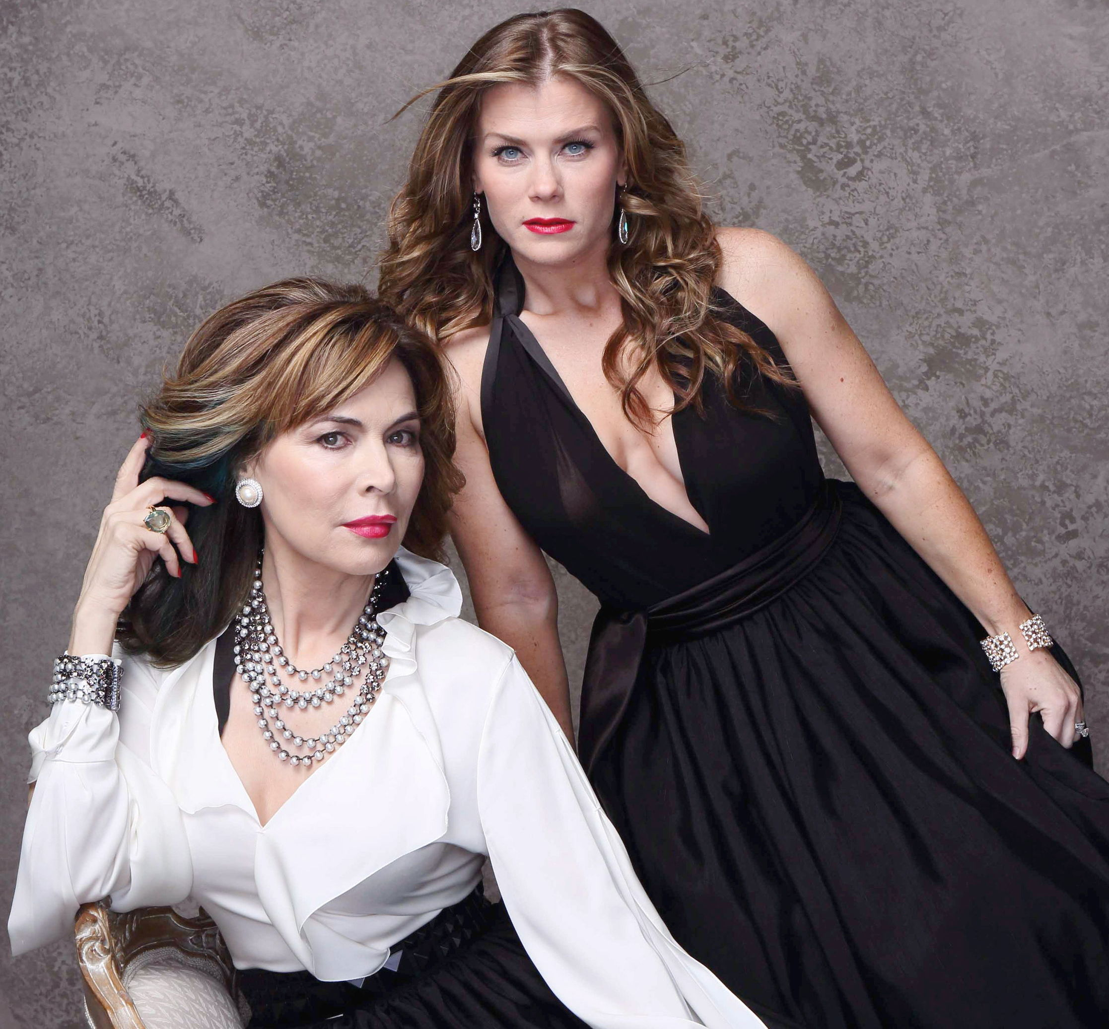 "Lauren Koslow, Alison Sweeney ""Days of our Lives"" kate sami gallery"
