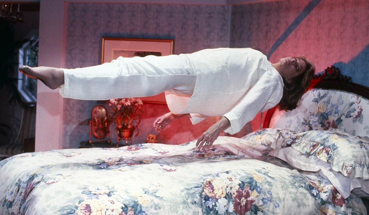 DAYS OF OUR LIVES, Deidre Hall, marlena levitating possession