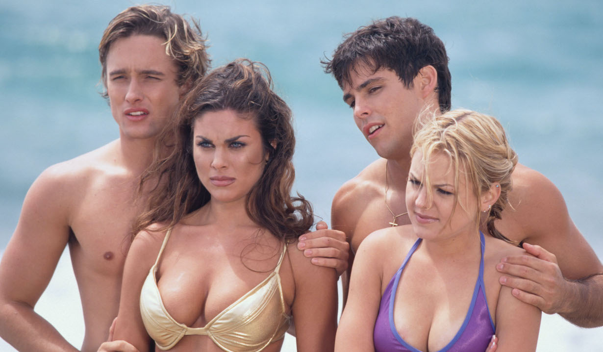 days Nadia Bjorlin, Jay Johnson, Kirsten Storms, and Jason Cook philip chloe shawn belle