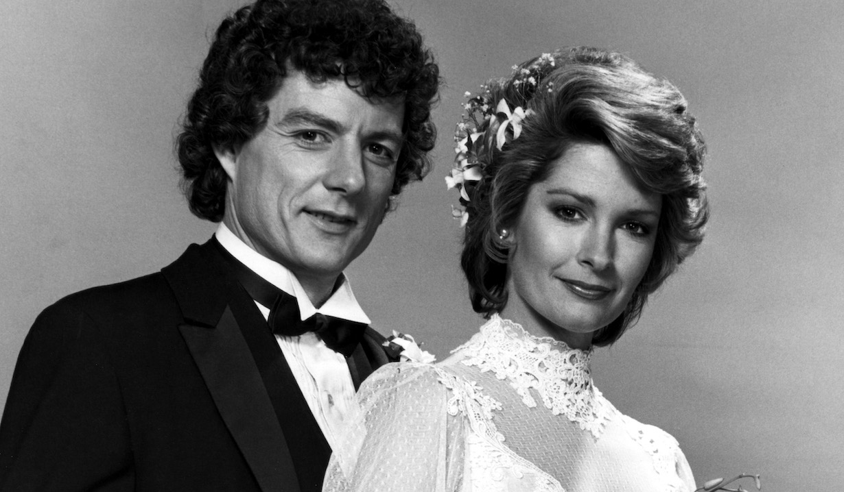 DAYS OF OUR LIVES, Wayne Northrop, Deidre Hall, roman marlena wedding