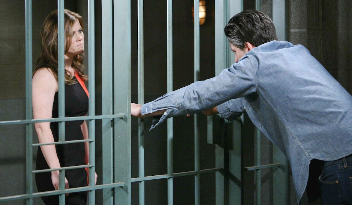 Sami confronts E.J. in prison on Days of Our Lives