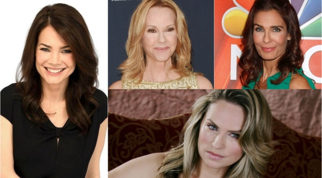 Kristian Alfonso, Rebecca Staab or Crystal Chappell could play Elizabeth's mother on General Hospital